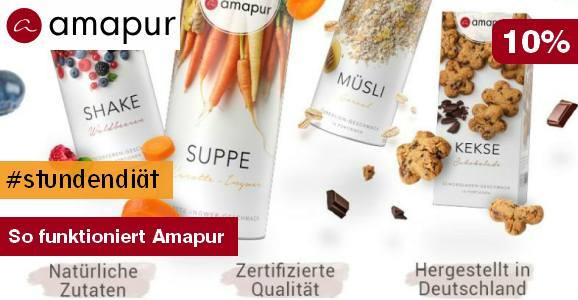 Amapur Diät Rabattaktion