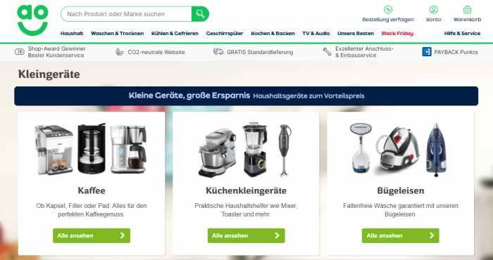 ao.de Online-Shop