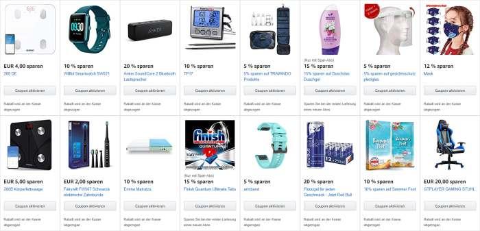 Beliebteste Amazon Coupons