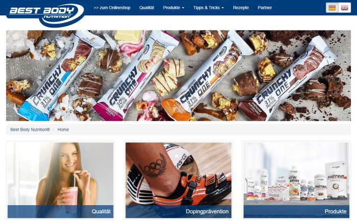 Best-Body-Nutrition Shop