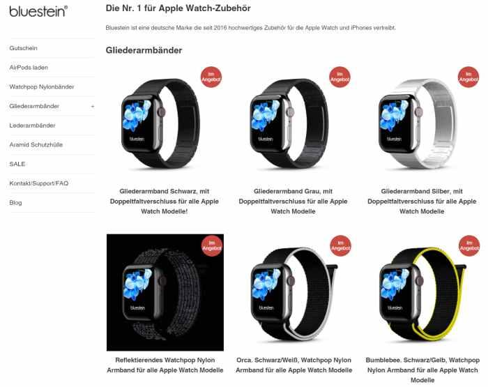 Bluestein Apple Watch
