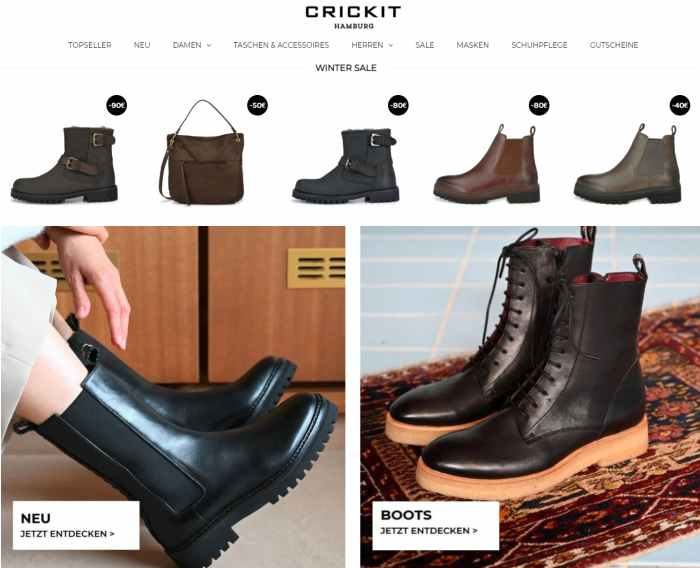 Crickit Schuhe