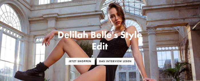 Model und Instagram-Star Delilah Belle