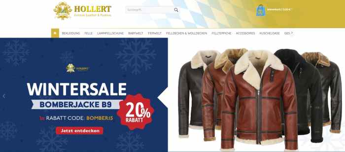 Der Fellmann Online-Shop