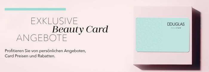Douglas Beauty-Card Vorteile