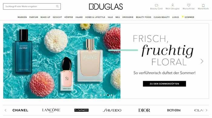 Douglas Online-Shop