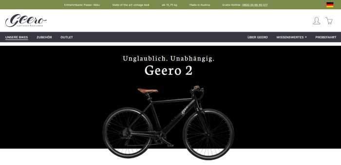 Geero E-Bike Shop