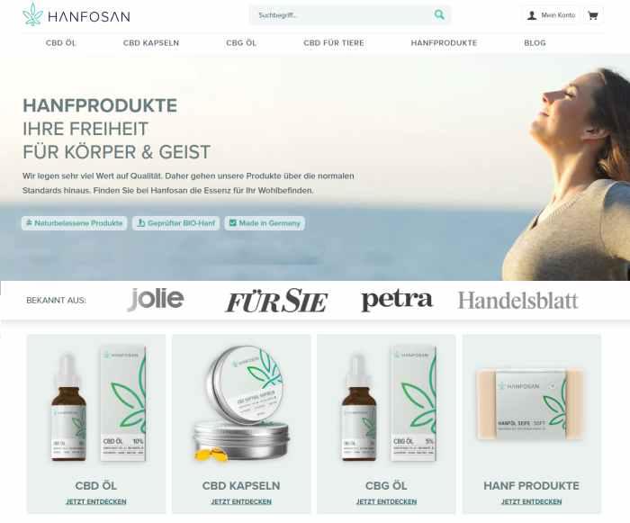 Hanfosan.de - Premium Hanfprodukte