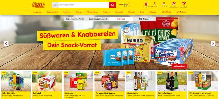 Netto Onlineshop