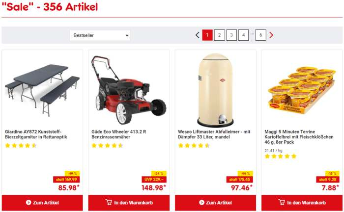 Netto Discounter SALE