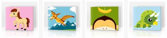 PicArt Malen nach Zahlen Kinder Vorlagen