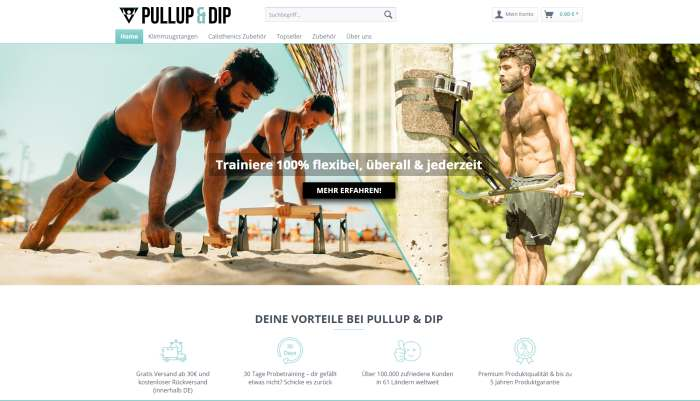 Pullup & Dip Shop
