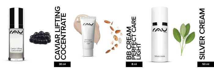 RAU Cosemtics Produkte