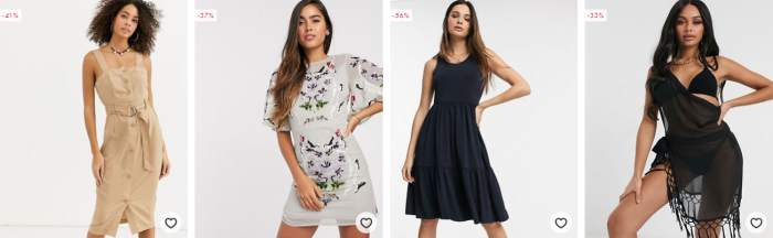 ASOS Mode Outlet Angebote