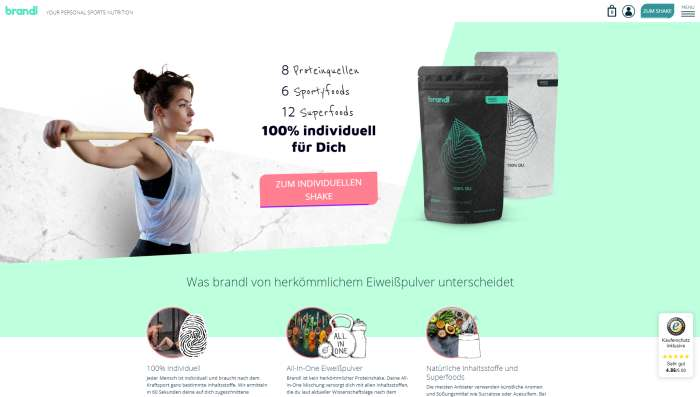 Brandl Nutrition Onlineshop
