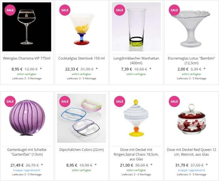 Cristalica Kristallglas Angebote