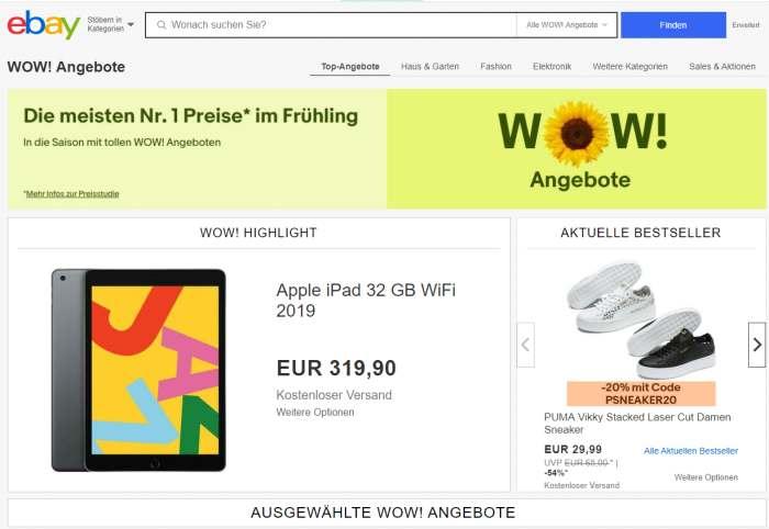 Aktuelle eBay Angebote