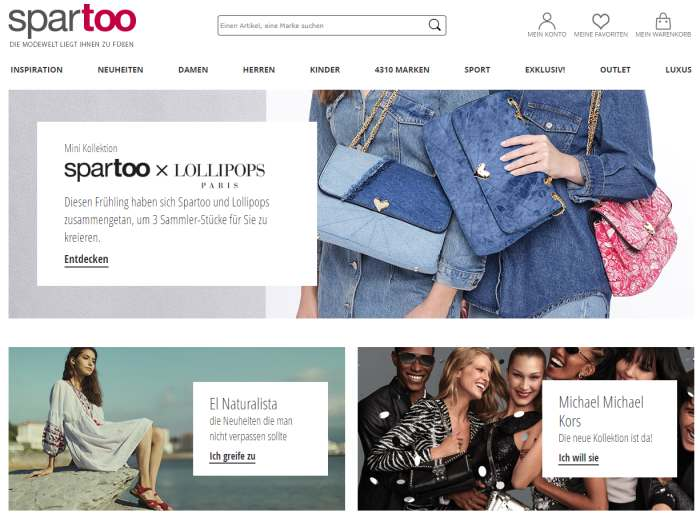 Spartoo-Shop Screenshot