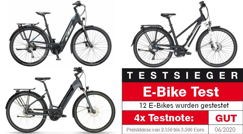 E-Bike Stiftung Warentest